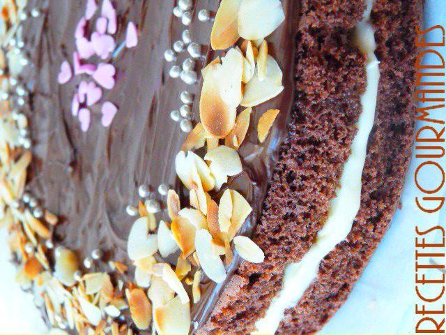 Gateau Au Chocolat Et Creme Mousseline