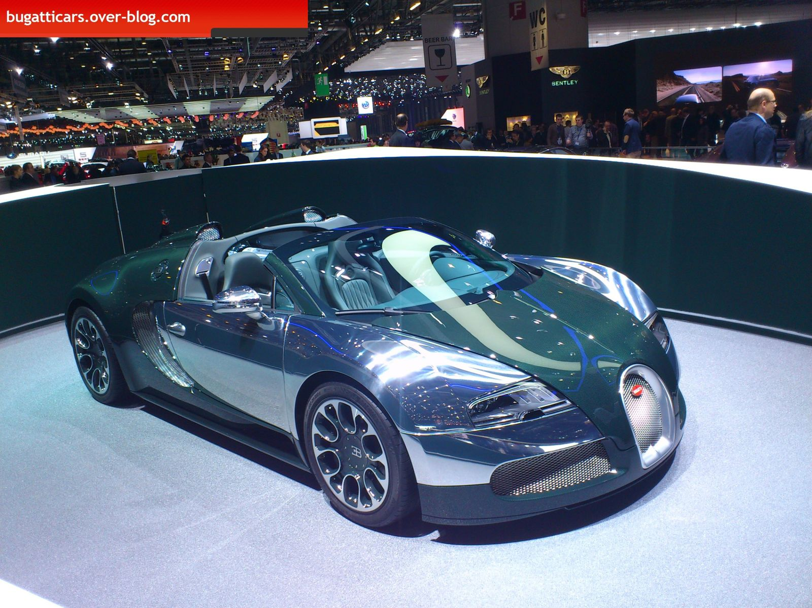 bugatti au salon de l u0026 39 automobile de gen u00e8ve 2013