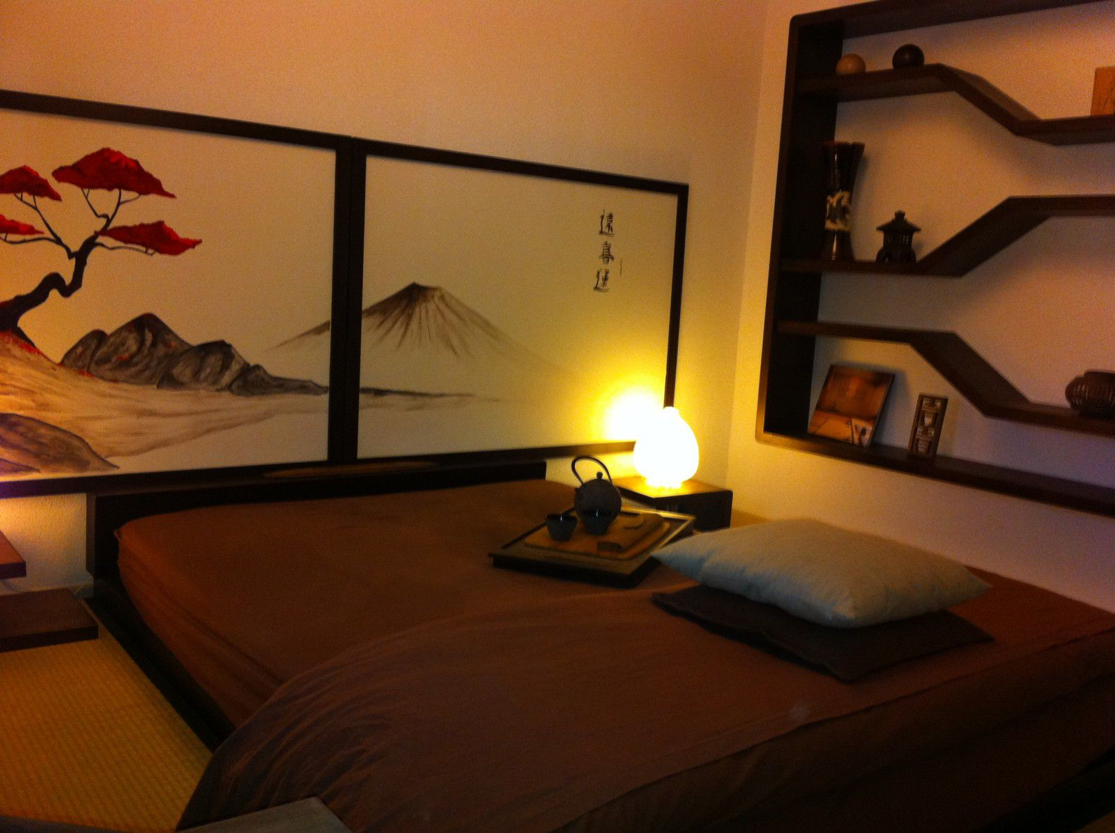Kyoto zen hayashi cr ation inspiration du japon for Agencement de chambre a coucher