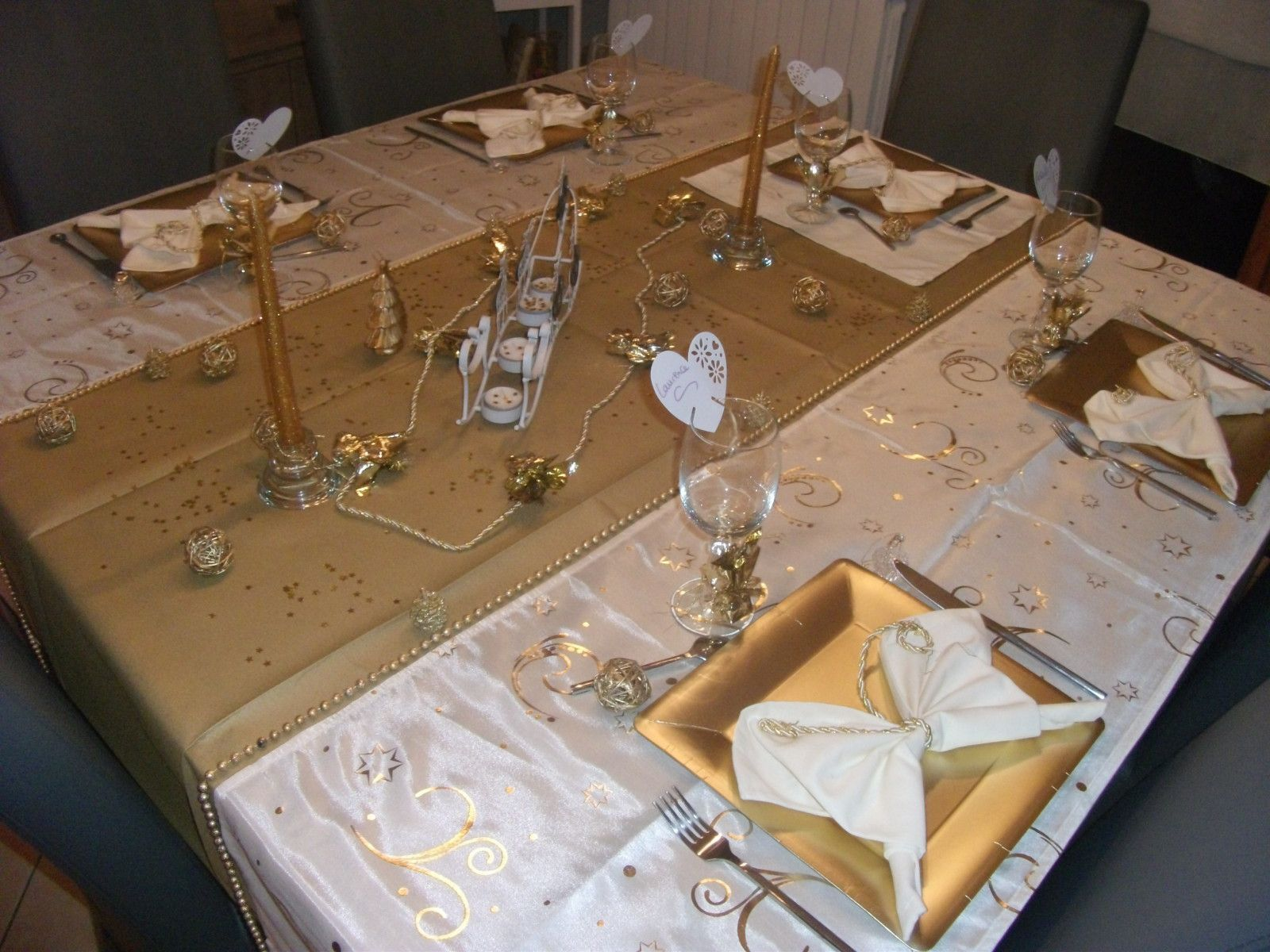 Album table de la saint sylvestre 2010 le blog de - Table reveillon saint sylvestre ...