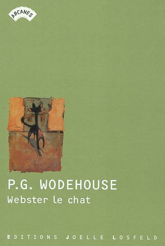 Webster le chat - P.G. Wodehouse