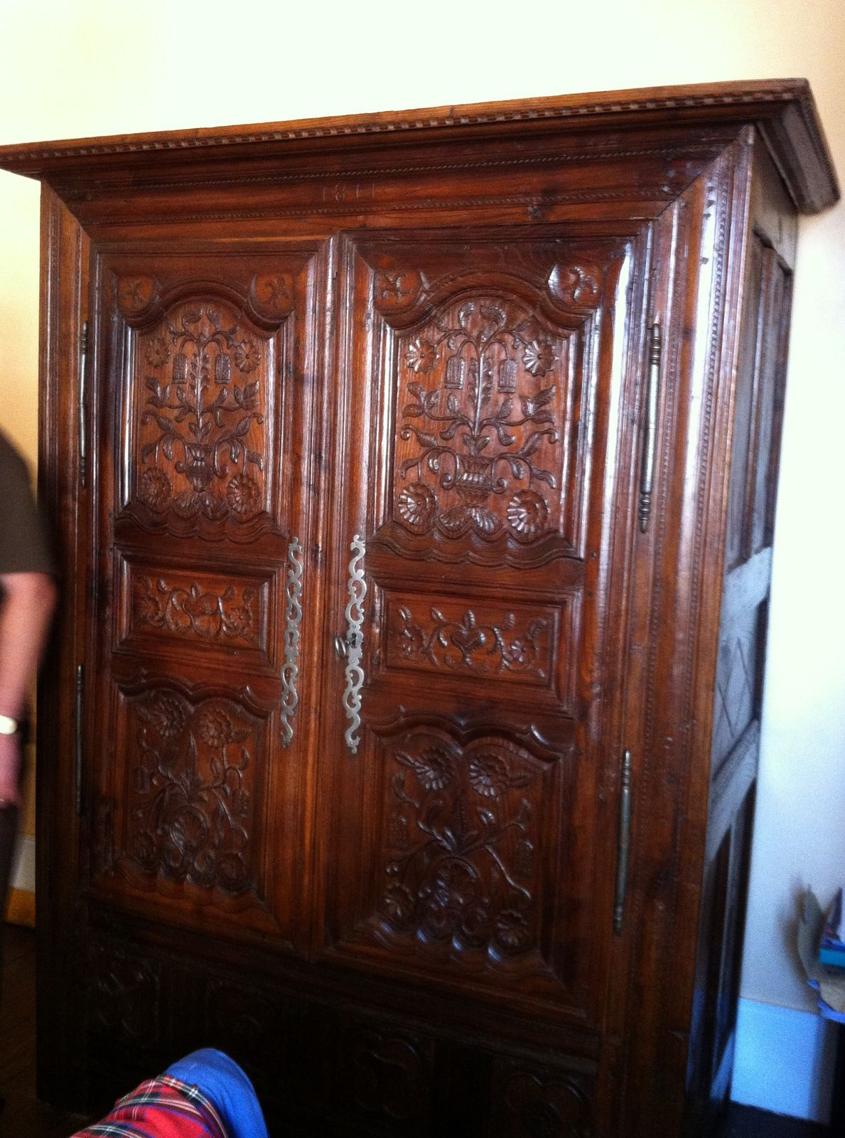 album armoire chene restauration meubles anciens. Black Bedroom Furniture Sets. Home Design Ideas