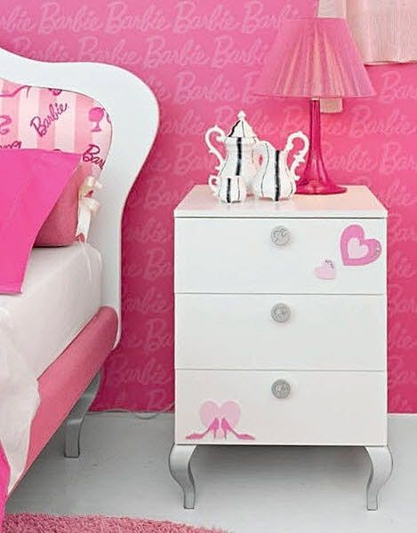 table de nuit petite fille. Black Bedroom Furniture Sets. Home Design Ideas