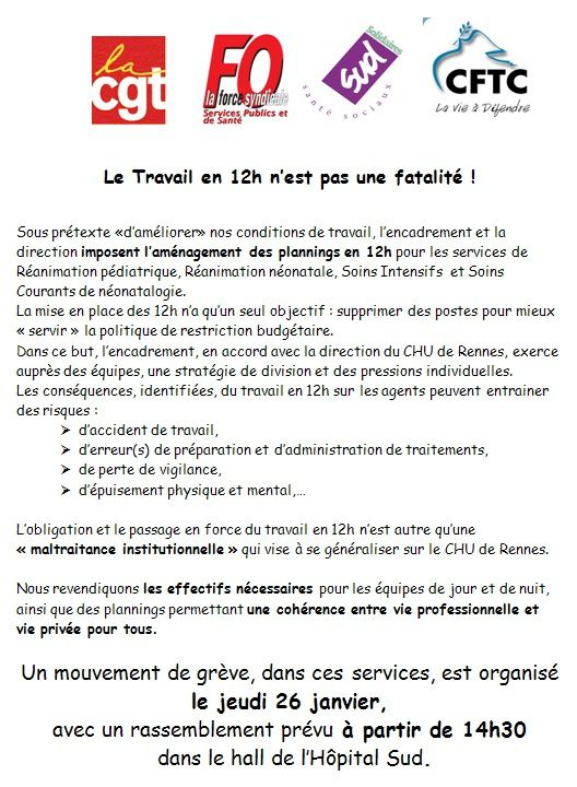 Tract 12H Rennes