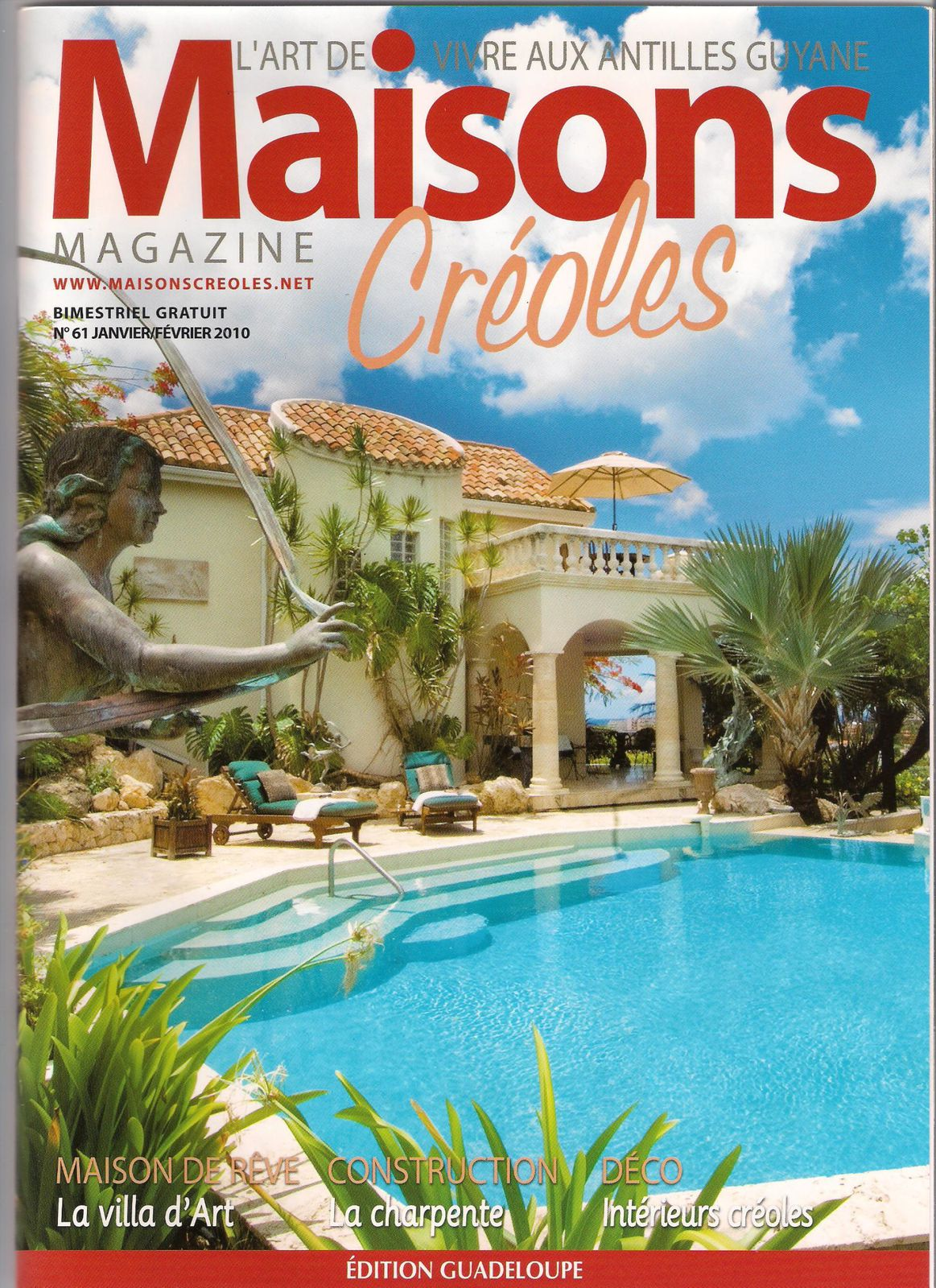 Album maisons creoles magazine le blog d 39 ingrid samson for Maison francaise magazine abonnement