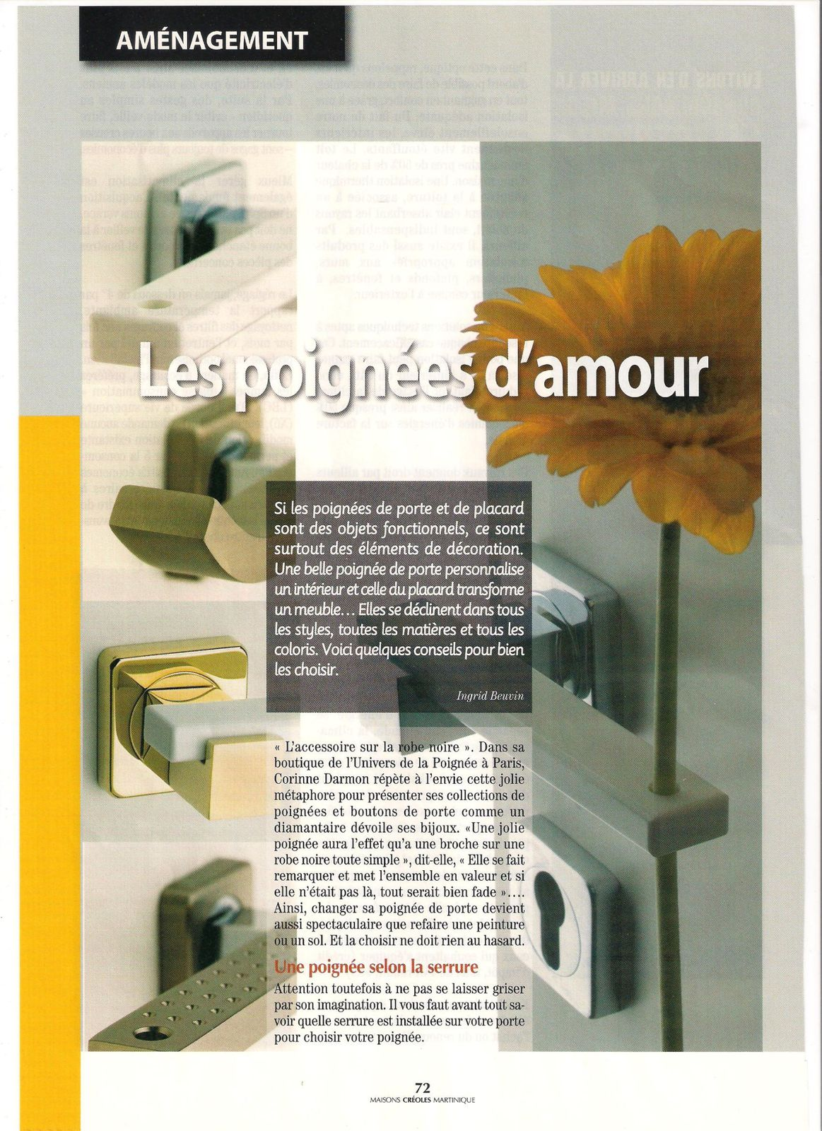 album maisons creoles magazine le blog d 39 ingrid samson. Black Bedroom Furniture Sets. Home Design Ideas