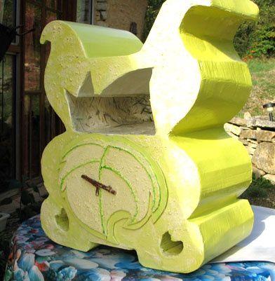 chevet vert