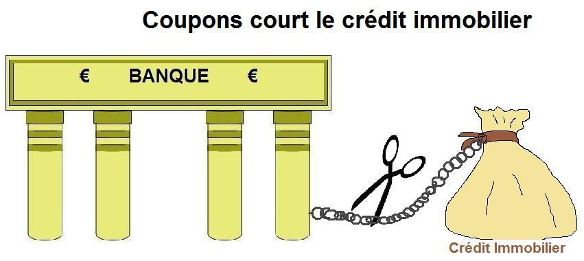Couper credit immobilier