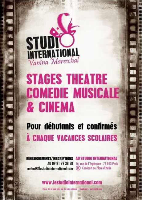 STUDIO International - Stages de Juillet 2014