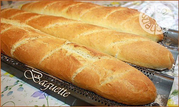 Homemade Baguette- Recipe 2 - Sousoukitchen English Version