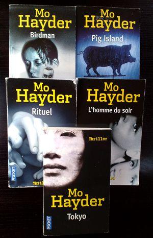 Mo Hayder book