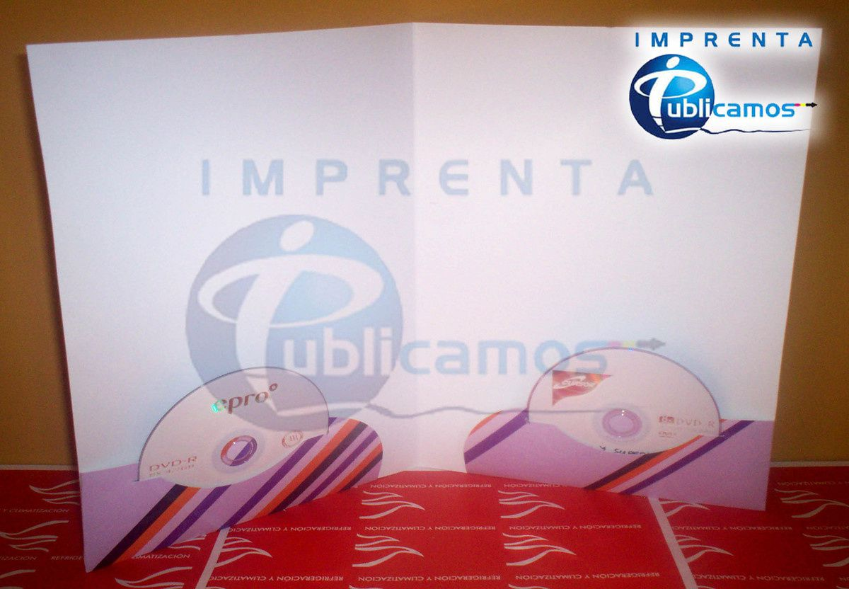 Carpetas Corporativas Offset Imprenta Publicamos