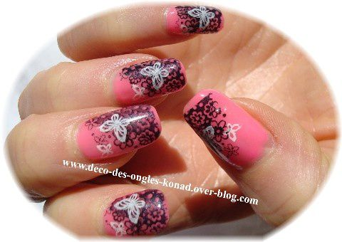 decoration ongles konad