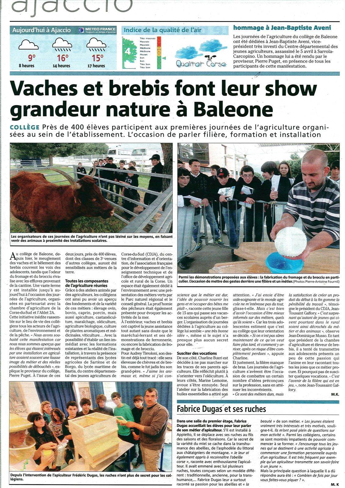 article carrefour metier2