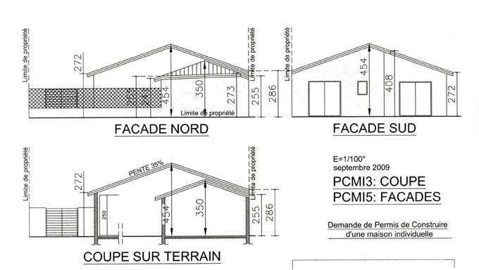 Plans construire soi m me ou presque for Plan coupe maison