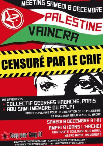 affiche censuré
