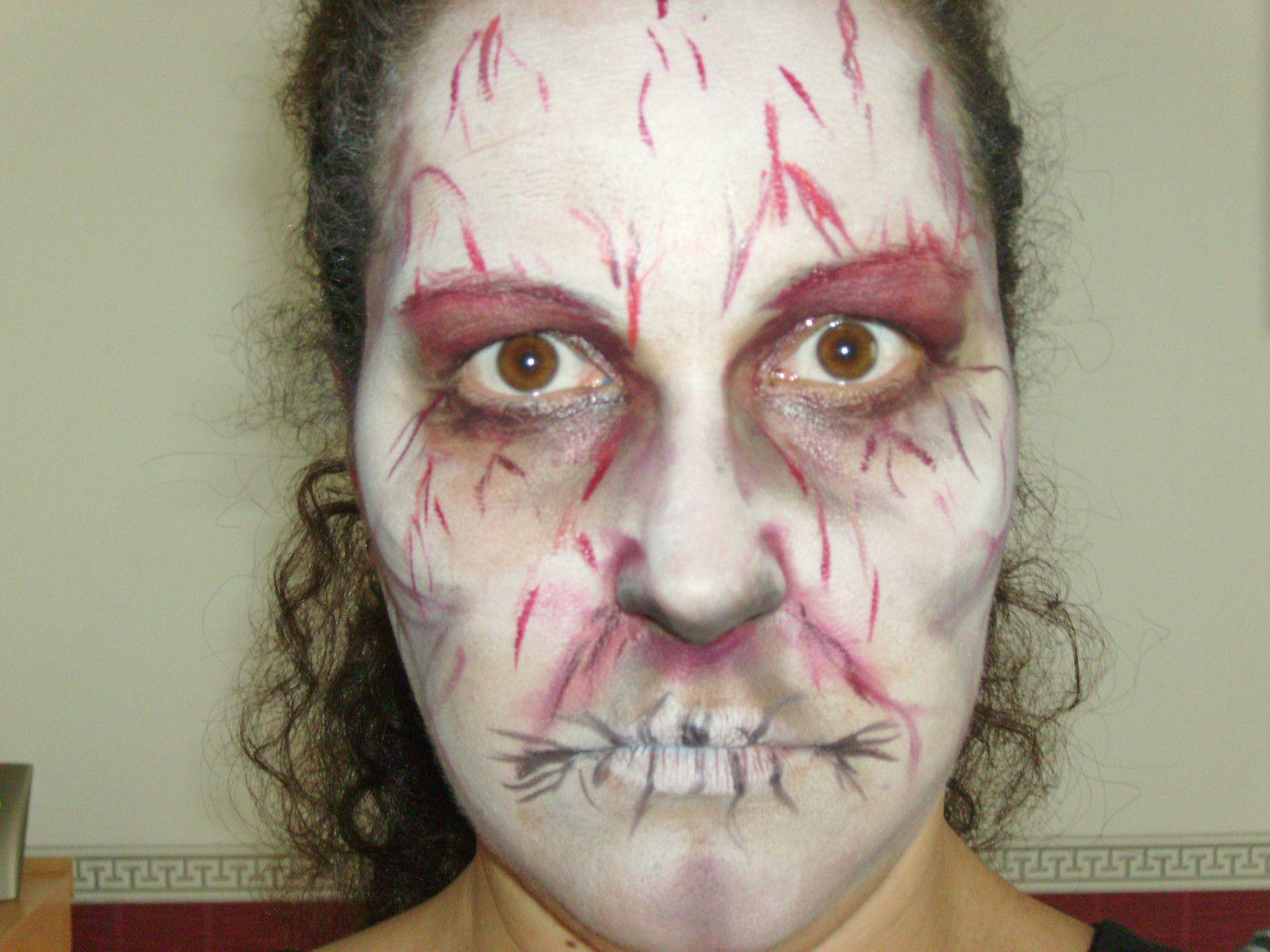 maquillage mort vivant sensible s 39 abstenir le blog de. Black Bedroom Furniture Sets. Home Design Ideas