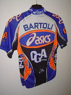 Michele Bartoli 1998 maillot de dos