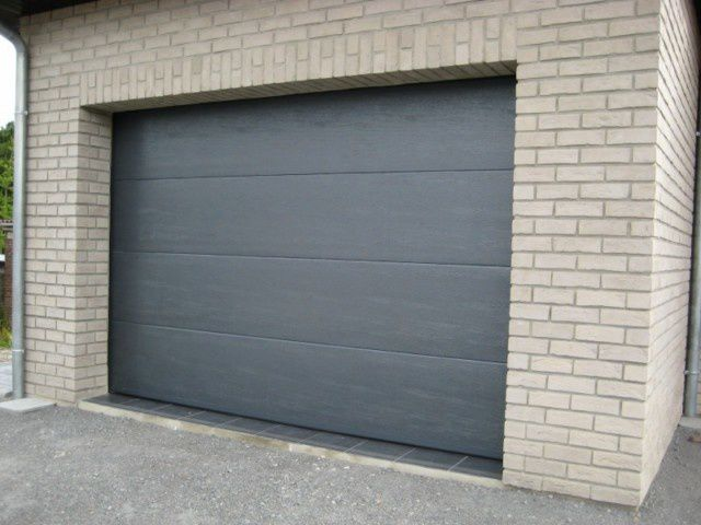 Monter Une Porte De Garage Sectionnelle  Maison Design  HosnyaCom