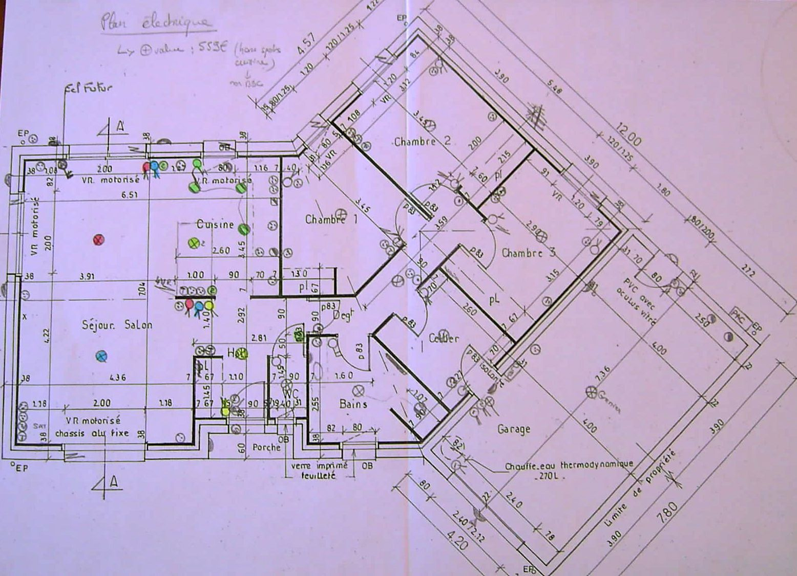Plan lectrique de la maison les tapes de construction for Etape de construction d une maison