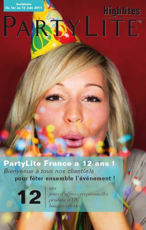Promotions invit s juin 2011 inclus special 12 ans for Trio miroir partylite
