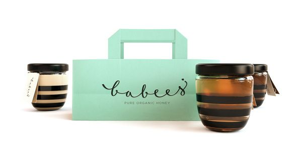 La Packaging Du Miel Babees Honey By Ah Ho Tendances