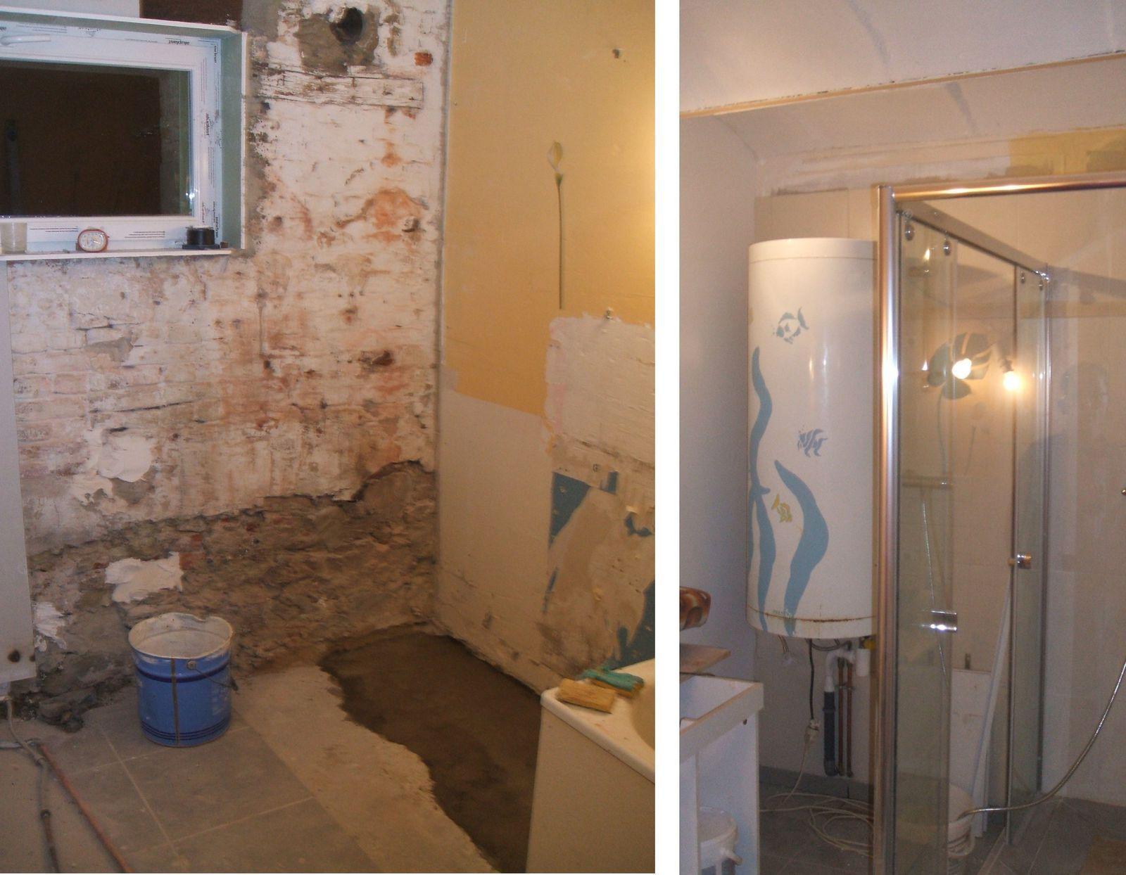 Les travaux de la salle de bain plaisir - Sous couche salle de bain ...