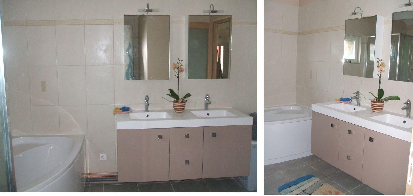 les travaux de la salle de bain plaisir. Black Bedroom Furniture Sets. Home Design Ideas