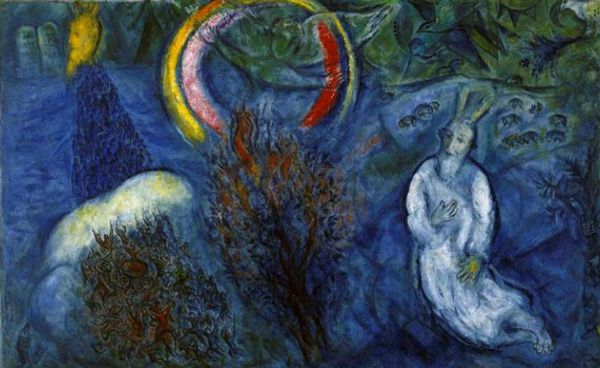 Chagall Moise Buisson Ardent