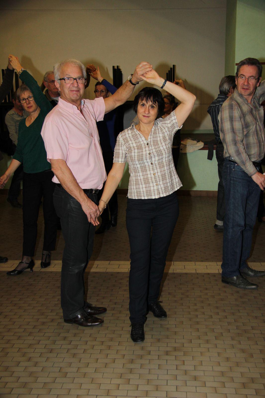 Section Danse du P.L.B.R. Soirée Galette des Rois le Mardi 15 et Jeudi 17 Janvier 2013.