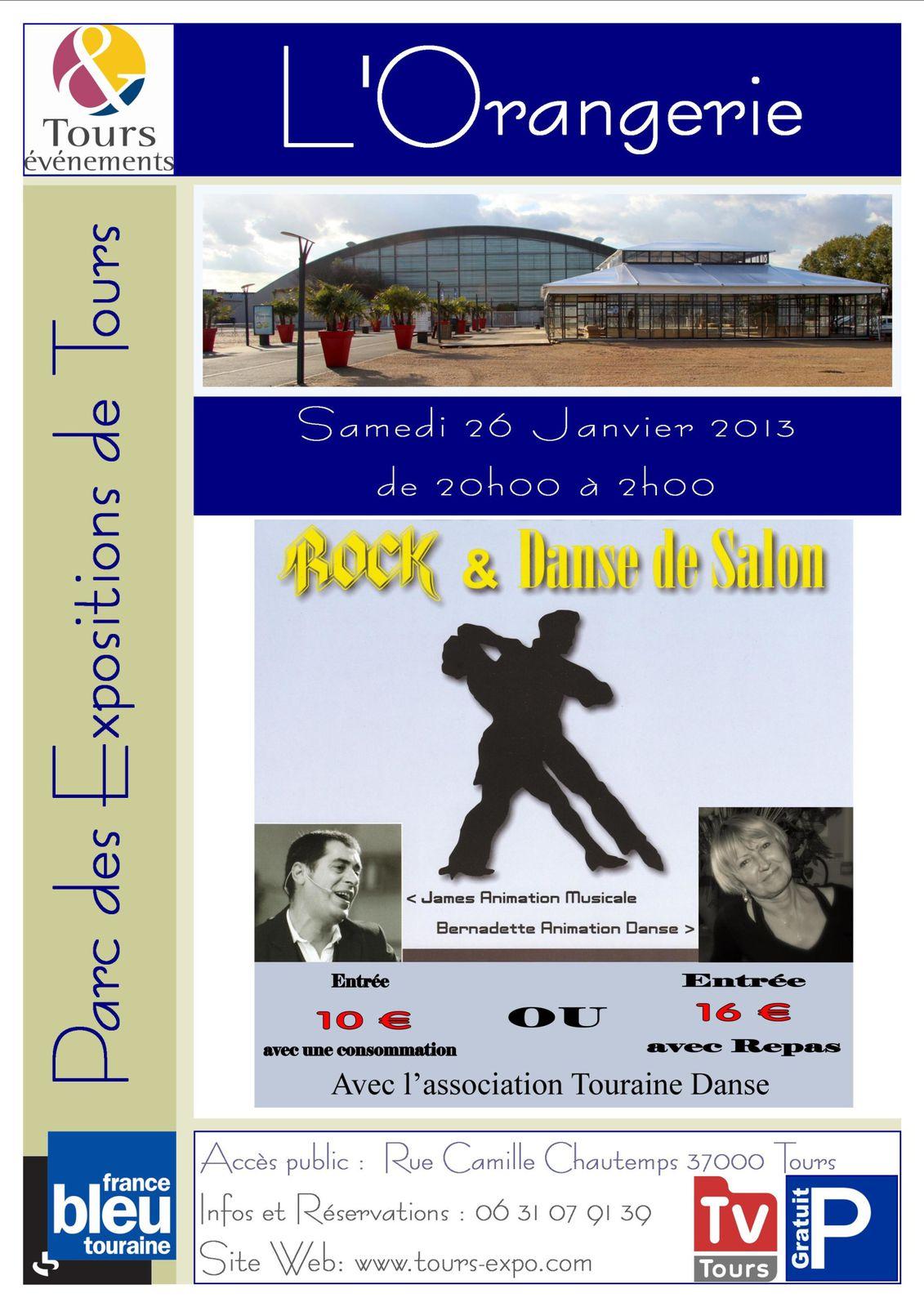 Soir e danse de salon et rock avec james l 39 orangerie du parc des expositions de tours - Association danse de salon ...