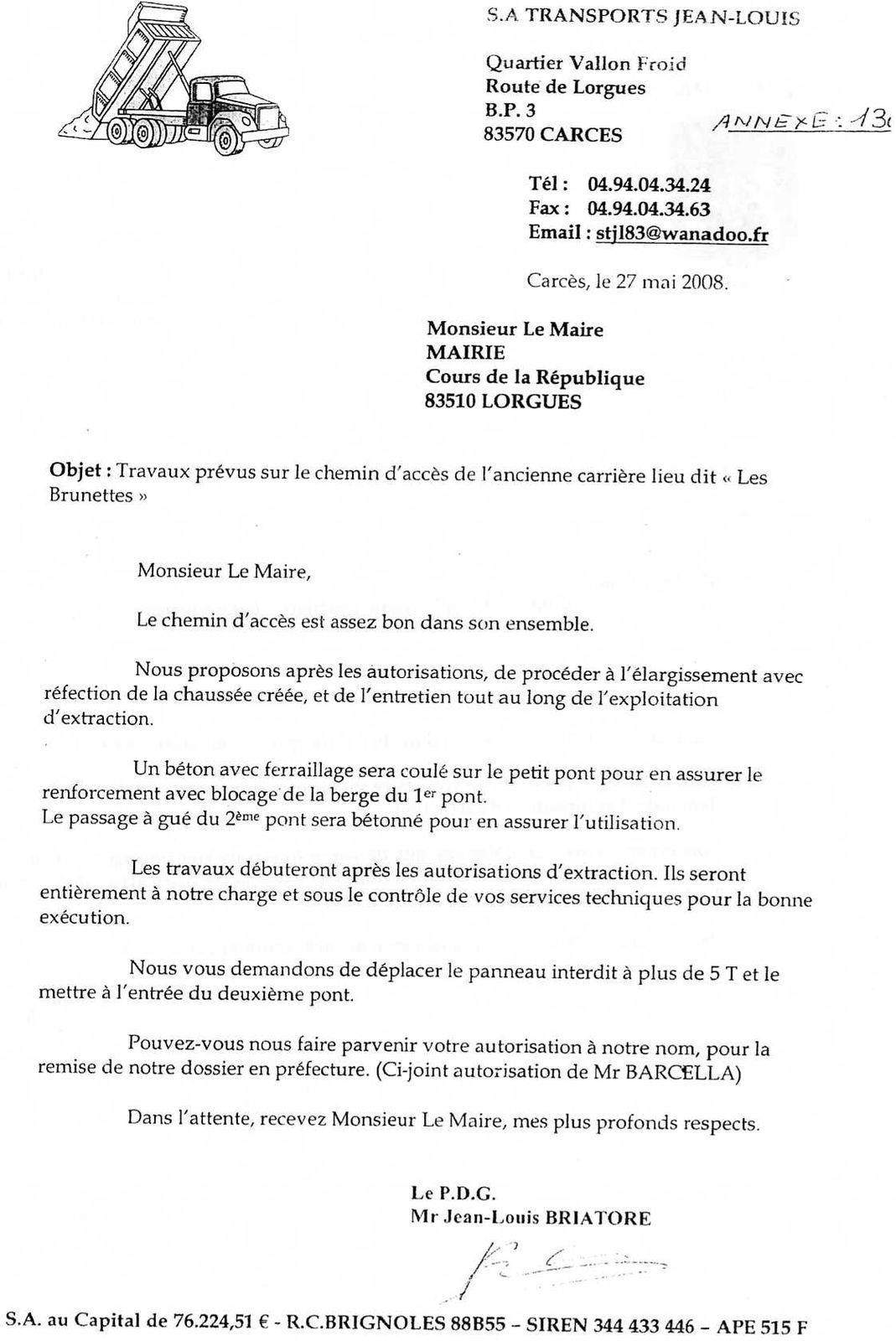 lettre a un maire pour une demande