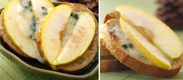 papillon-toasts-roquefort-pomme