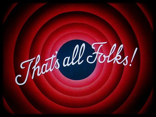 That's all folks ! Bis