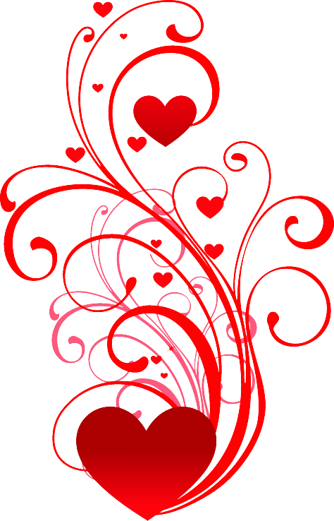 mariage dessin coeur