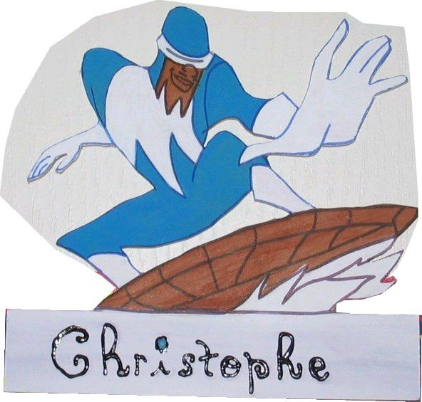 plaque christophe