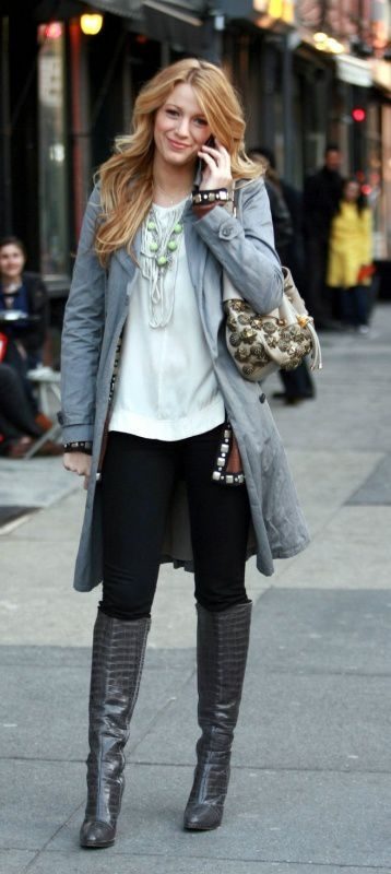 Filming Gossip Girl March 26 2008-copie-1