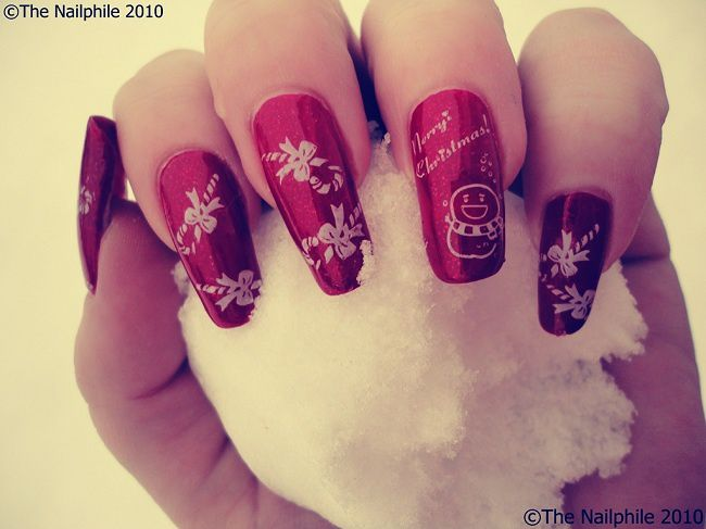 decoration ongles noel