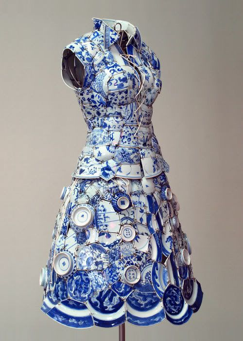 robe,porcelaine