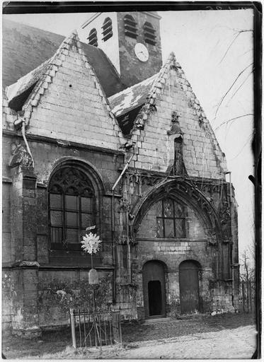 église Saint Paul d'Abbeville. A été laissé à l'abandon,il ne reste aujourd'hui que quelques ruines non loin de l'église Saint Jacques