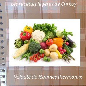 veloute de l gumes les recettes l g res de chrissy. Black Bedroom Furniture Sets. Home Design Ideas