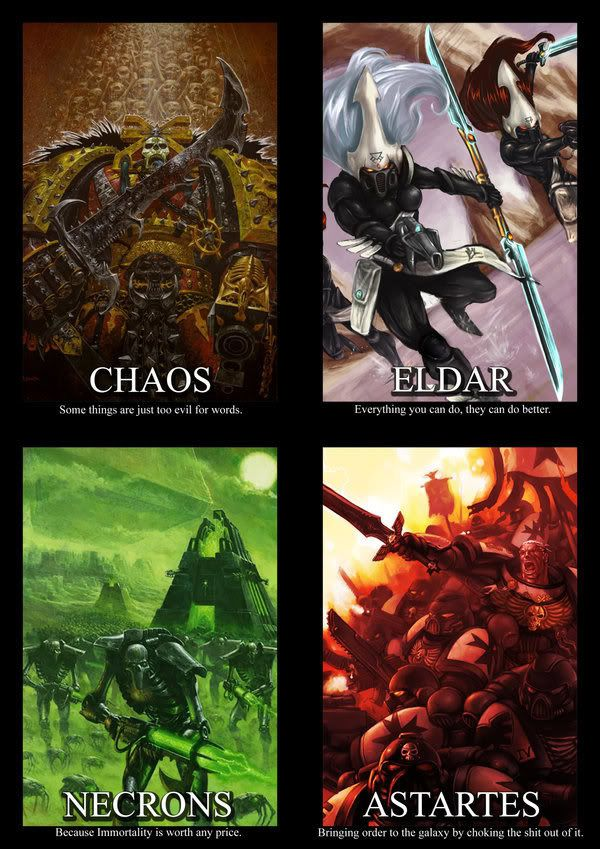 Warhammer 40K GM Screen Part 1 by i