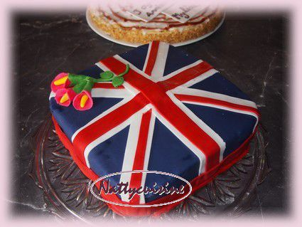 gateau union jack - le blog de nattycuisine.over-blog