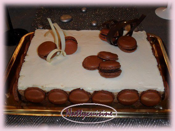 decoration pour gateau 3 chocolat