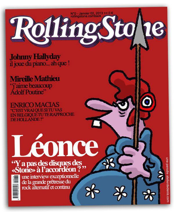 magazine rolling stone issue 2013 couverture hallyday