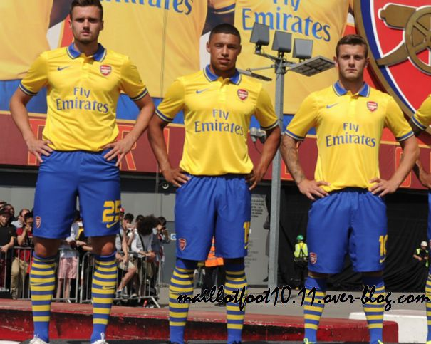 nouveau maillot arsenal away 2014