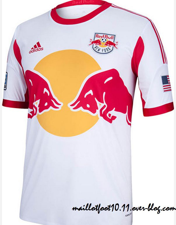 maillot domicile 2013 new york red bulls. Black Bedroom Furniture Sets. Home Design Ideas