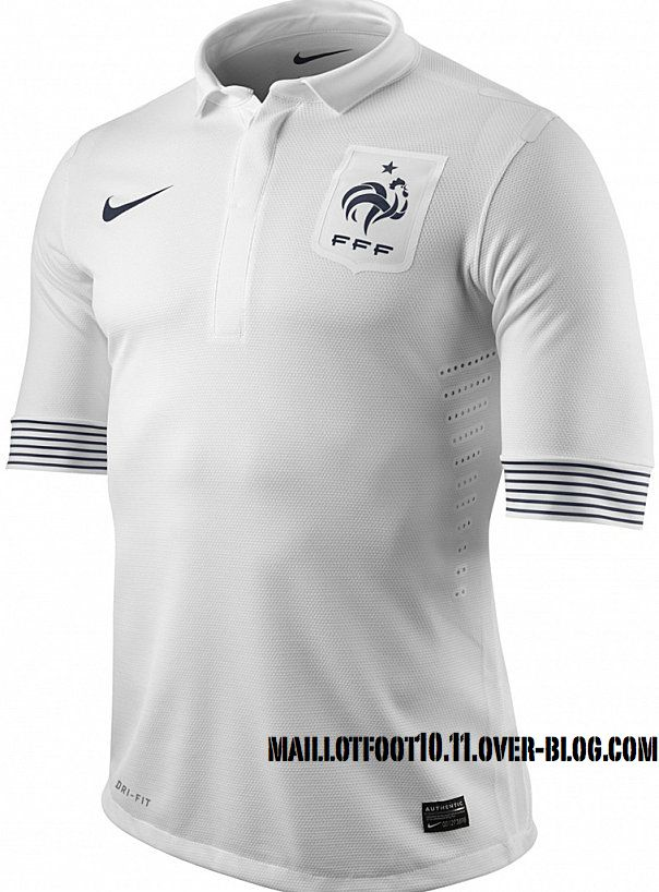 france-mailllot-euro-2012-away