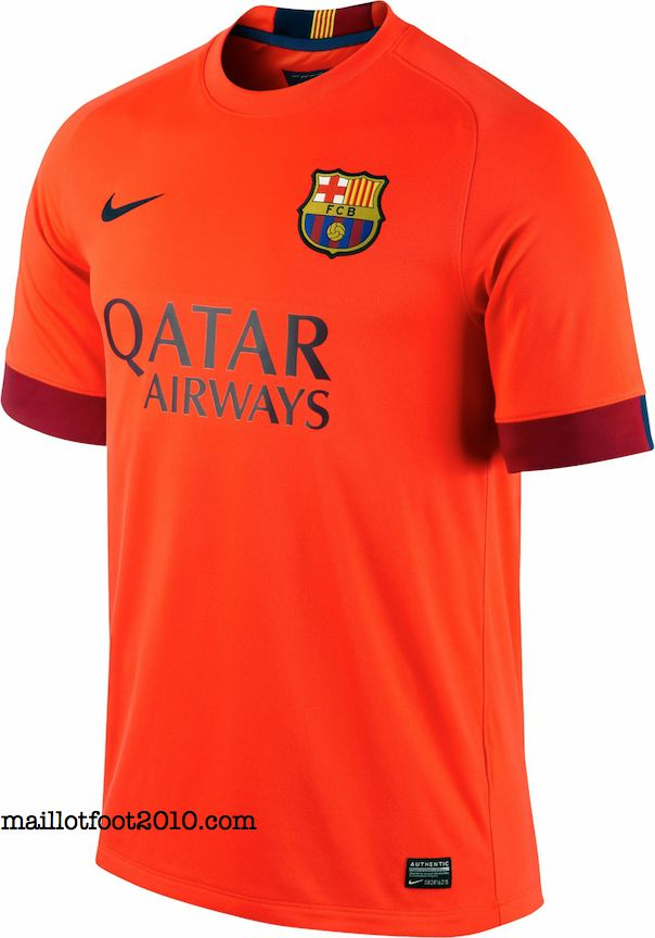 Fc barcelone nouveaux maillots 2014 2015 www for Maillot exterieur barcelone 2014