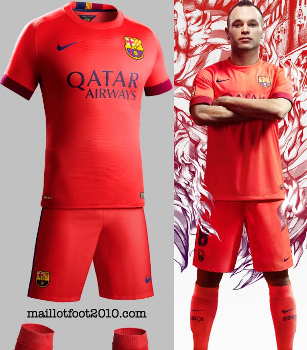 fc barcelone maillot exterieur 2014 2015 www maillotfoot2010